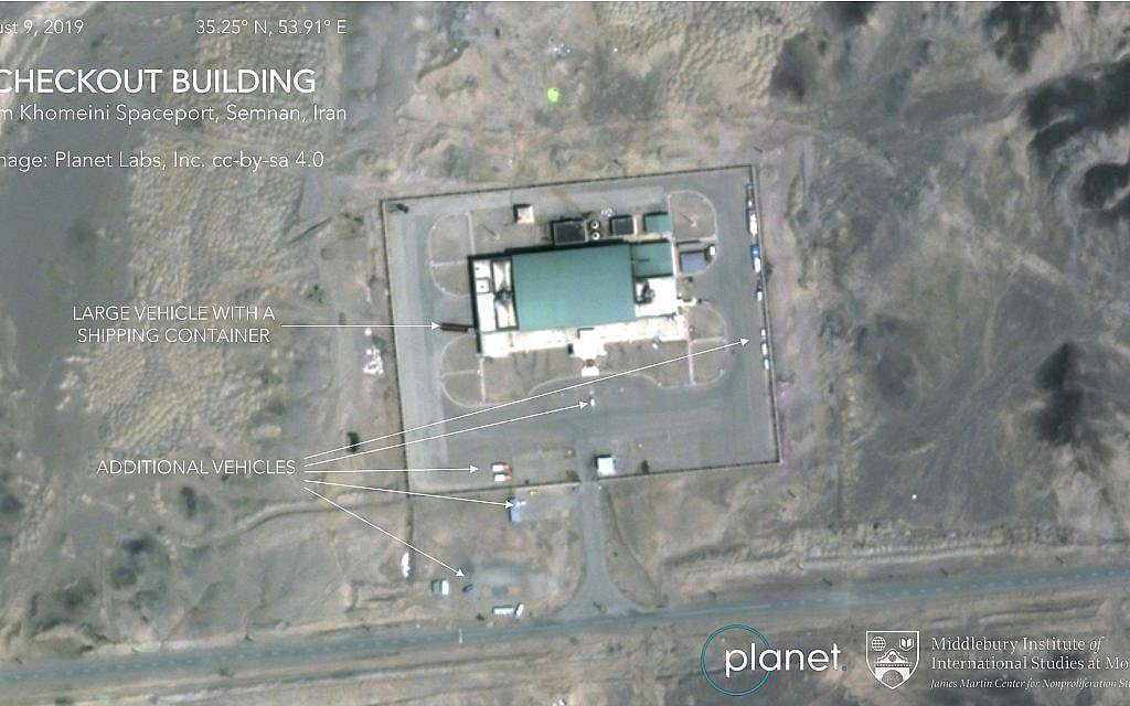 Iran planning to launch another satellite, images suggest