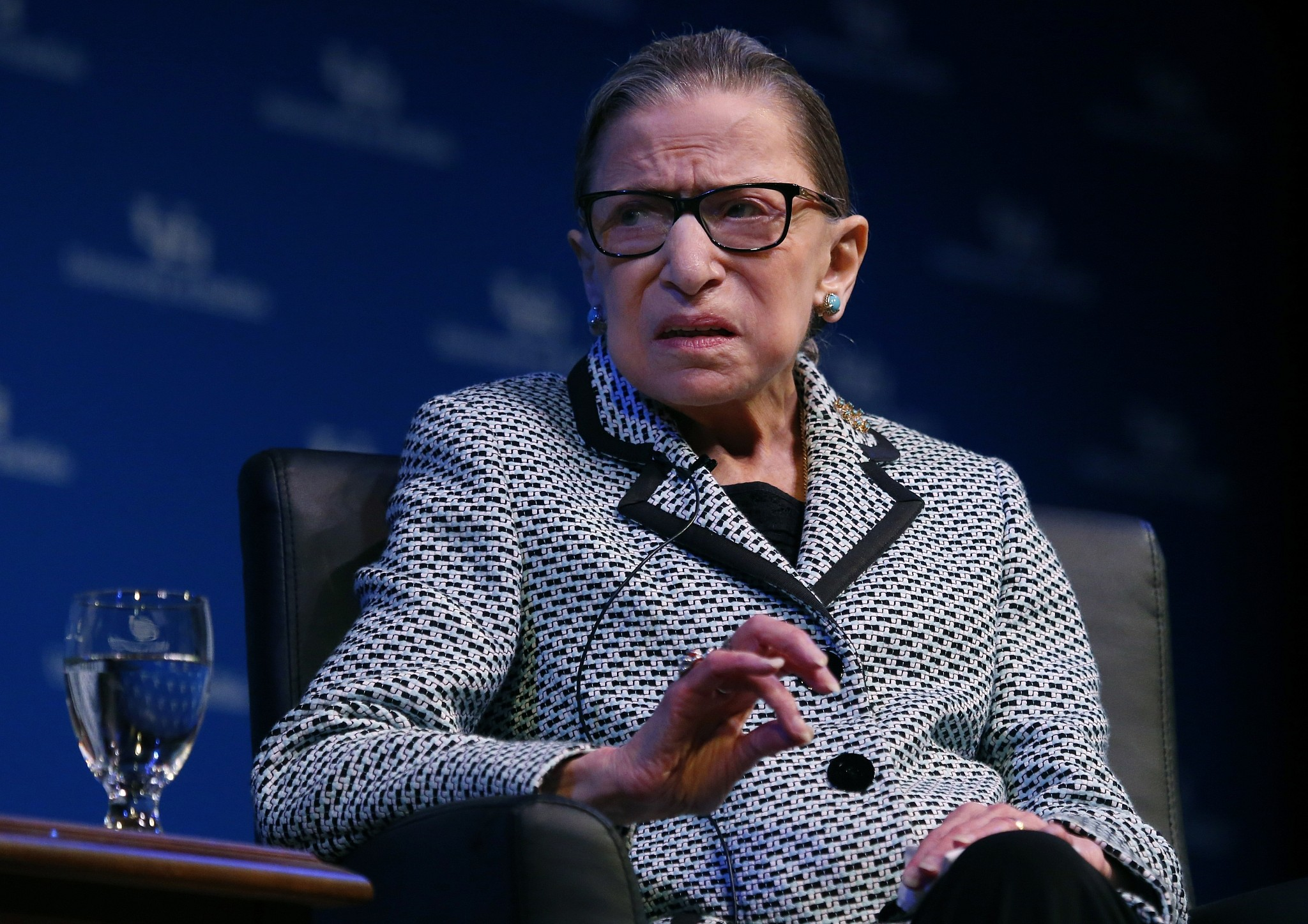 Ruth Bader Ginsburg 'on way to being very well' after cancer treatment