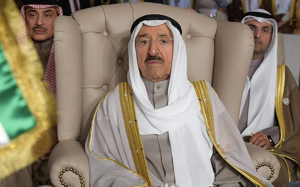 Top Iran diplomat suggests 90-year-old Kuwait ruler is ill