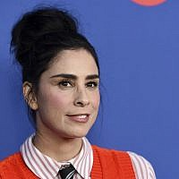 "Sarah Silverman poses before an Emmy For Your Consideration event for the Showtime series ""Who Is America?"" at Paramount Studios, Wednesday, May 15, 2019, in Los Angeles. (Photo by Chris Pizzello/Invision/AP)"