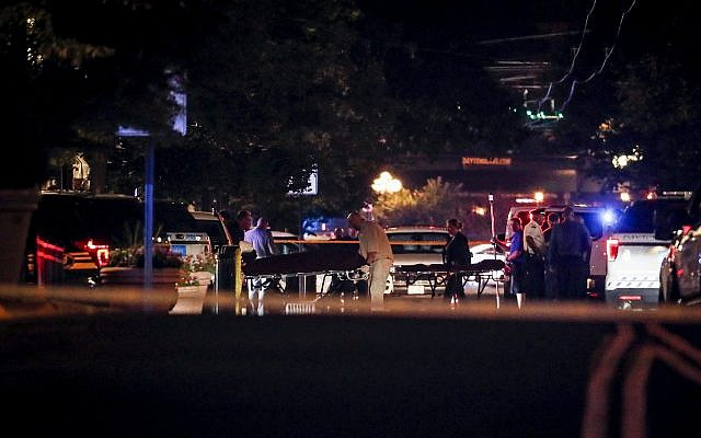 With body armor and rifle, gunman brings death to Dayton in