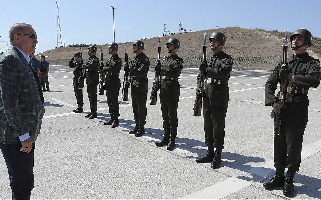 Erdogan says he'll 'eliminate' Syria Kurd militia, operation coming 'very soon'