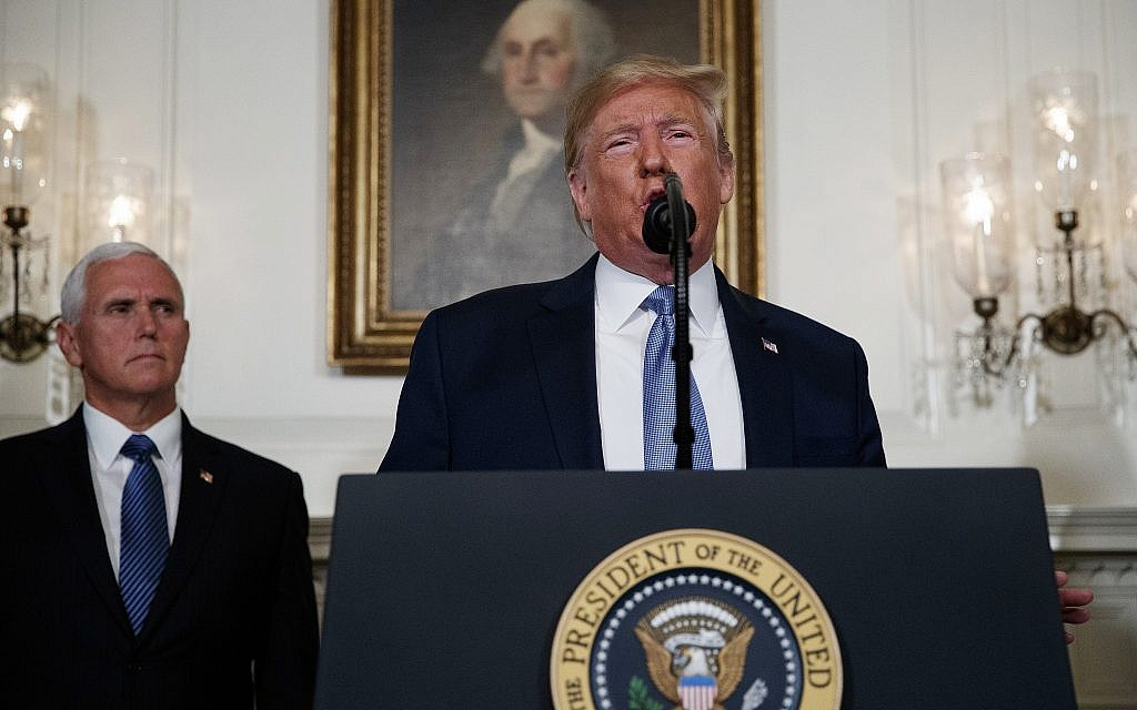 Trump declares Pence will be his running mate in 2020 elections
