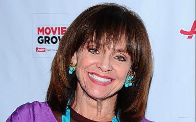 Valerie Harper arrives at the AARP Movies for Grownups Film Showcase at Regal Cinemas L.A. LIVE on Friday, November 7, 2014 in Los Angeles. (Photo by Vince Bucci/Invision for AARP/AP Images)
