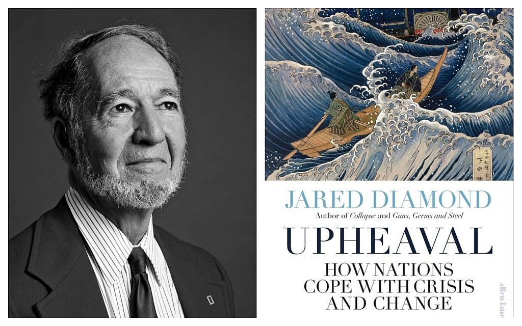 Jared Diamond, author of the new book, 'Upheaval: How Nations Cope With Crisis and Change.' (Courtesy)