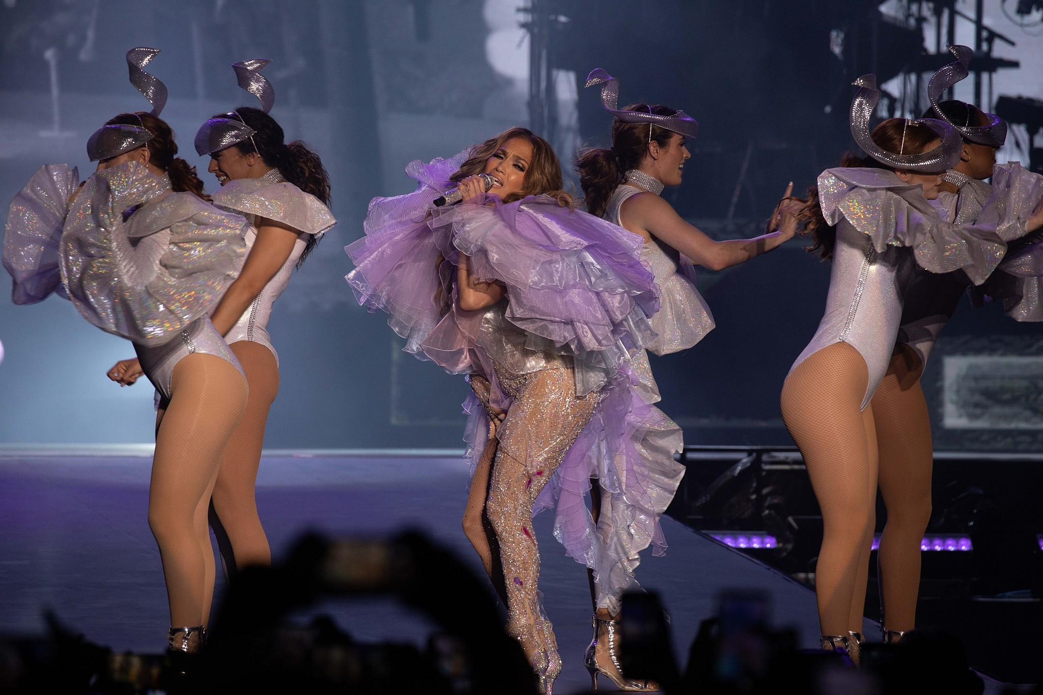 J-Lo celebrates 50 with an adoring, dancing crowd in Tel Aviv | The Times  of Israel