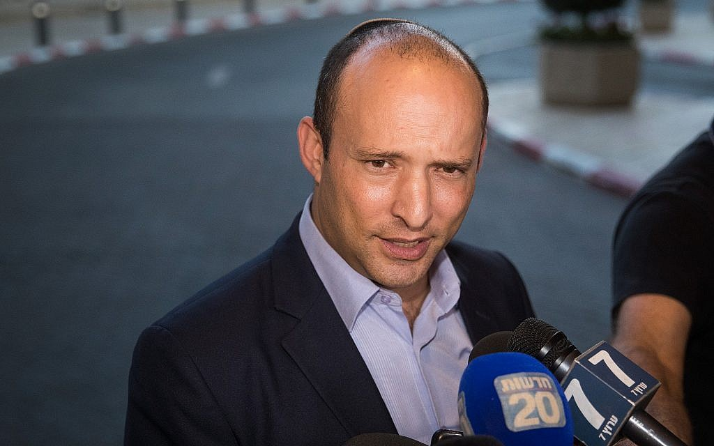 Bennett says right-wing Yamina bloc will recommend Netanyahu as prime minister