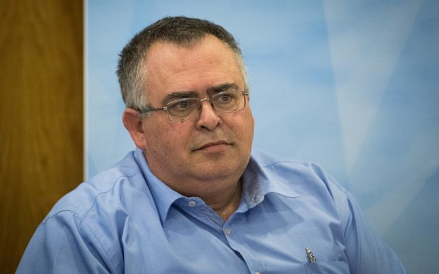 Likud MK David Bitan at the Knesset on July 31, 2019. (Yonatan Sindel/Flash90)