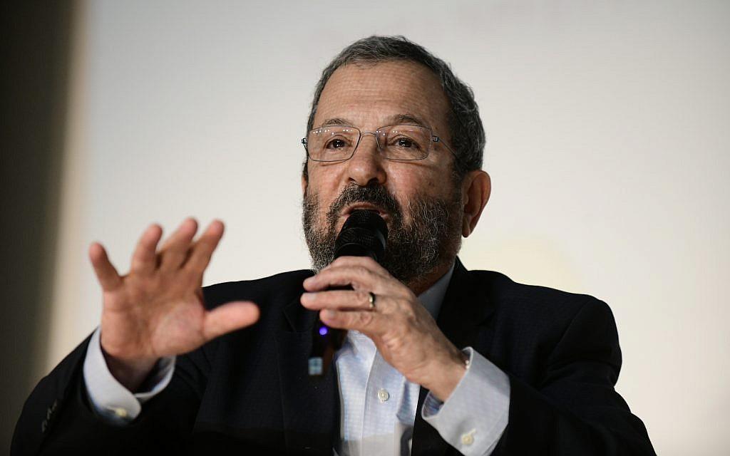 Barak says Netanyahu cowed by Trump 'like a puppy'
