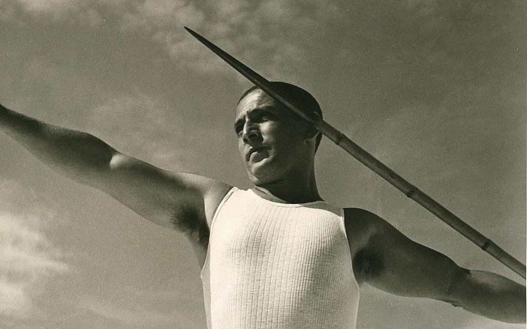 Liselotte Grschebina, Israeli, born Germany, 1908–1994, Sports in Israel: Javelin Thrower, 1937 © The Israel Museum, Jerusalem
