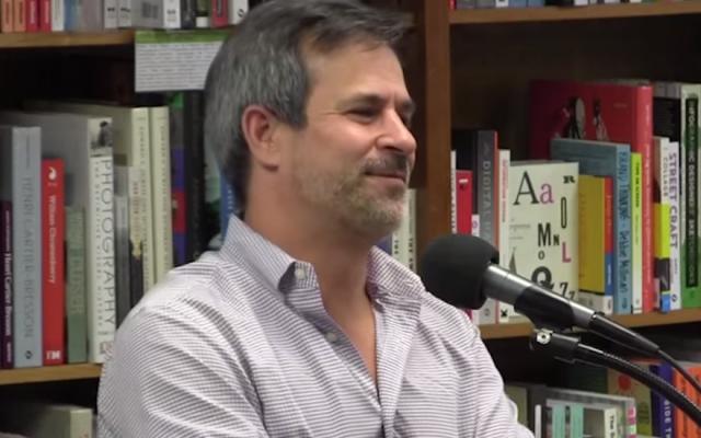 Jonathan Weisman. (Screen capture/YouTube via JTA)