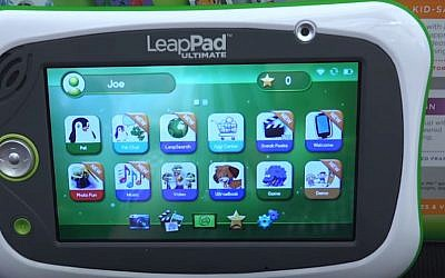 "Israeli cybersecurity firm Checkmarx has found ""multiple security vulnerabilities in the LeapPad Ultimate tablet for children developed by LeapFrog Enterprises. (YouTube screenshot)"