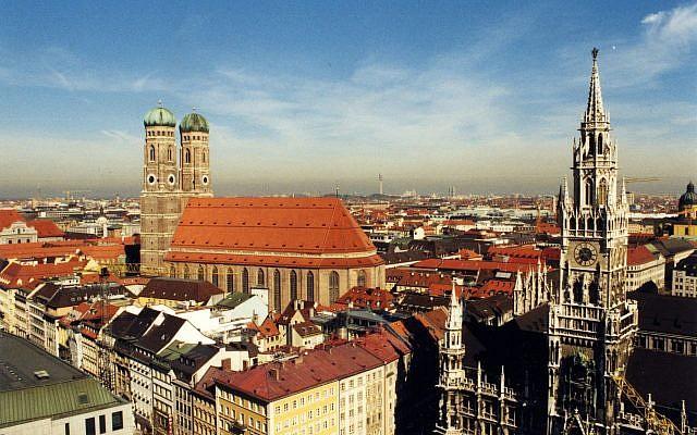 The skyline of Munich, Germany. (Wikipedia/Stefan Kühn/CC BY-SA)