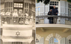 Nachmani 23, then and now (Courtesy Ronna Mink)