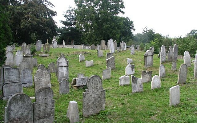 The Jewish cemetery in Osoblaha, the Czech Republic (CC BY-SA Wikimedia Commons)