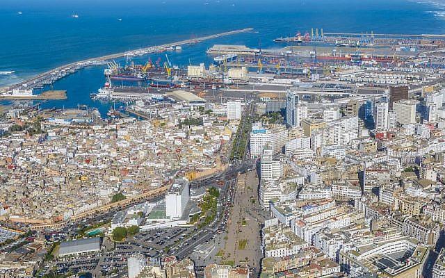 A view of Casablanca (SS BY-SA Brio-En/Wikipedia)