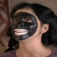 "Comedian Sarah Silverman in a sketch on Comedy Central's ""Sarah Silverman Program"" in which she appeared in blackface. (Screen capture: YouTube)"