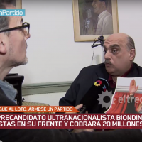 Alejandro Biondini (right; YouTube screenshot)