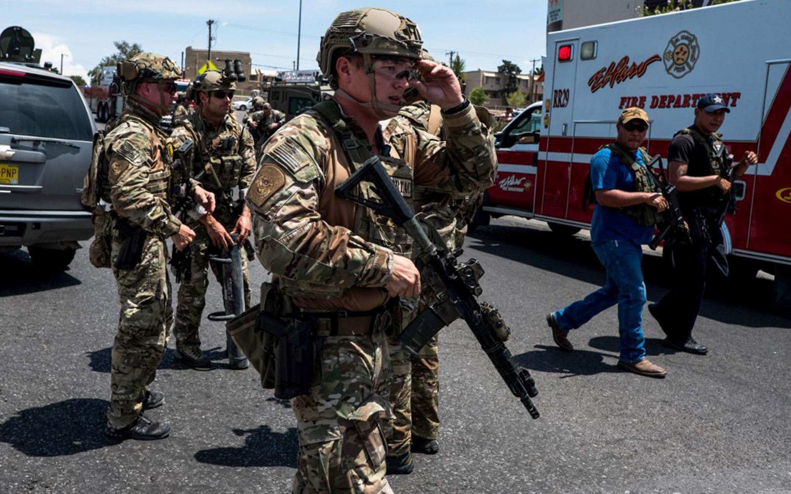 El Paso Shooting: 20 Dead; Potential 'Nexus To Hate Crime' Being Probed