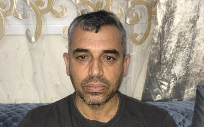East Jerusalem resident Samer Sleiman who is suing police for planting a gun in his house during the filming of a television docudrama (courtesy)