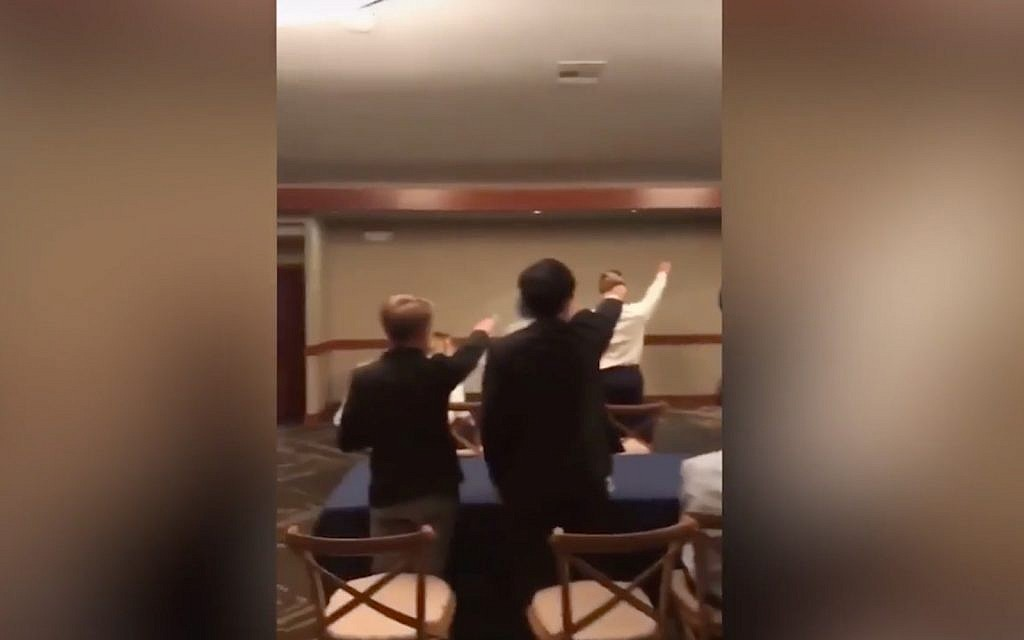 California students make Nazi salute, sing marching song at awards ceremony