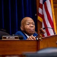 Chairman Rep. Elijah Cummings, D-Md., at a hearing on Capitol Hill in Washington, July 18, 2019. (AP Photo/Andrew Harnik)