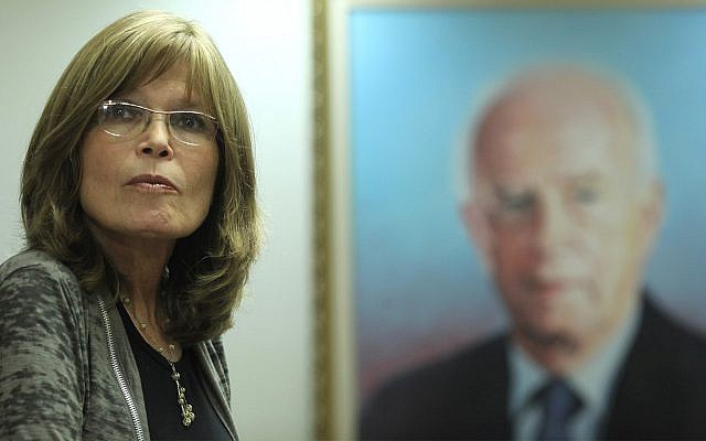 Retired judge Sara Frish attends a Labor party meeting in the Knesset, July 4, 2011.  (Kobi Gideon/Flash90)