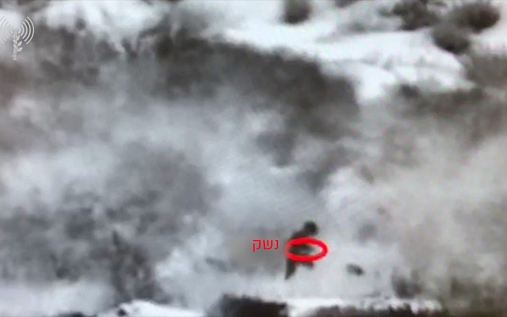 IDF releases footage of foiled Gaza infiltration attempt