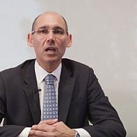 The Governor of the Bank of Israel, Amir Yaron (YouTube Screenshot)