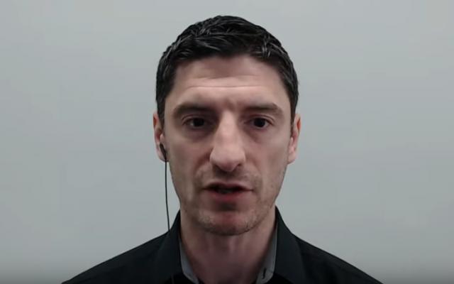 British neo-Nazi Mark Collett (YouTube screenshot)