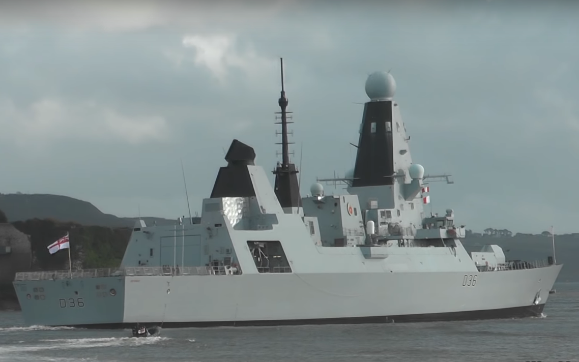 Britain sends third warship to Persian Gulf amid tensions with Iran
