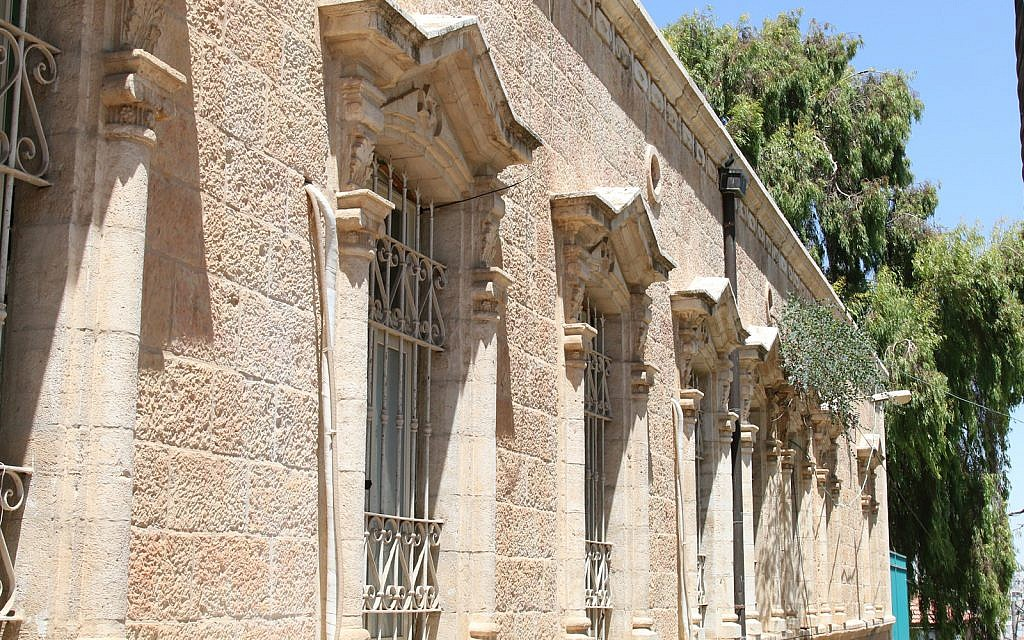 Beit Davidoff was built in the early 20th century and now houses a community center. (Shmuel Bar-Am)