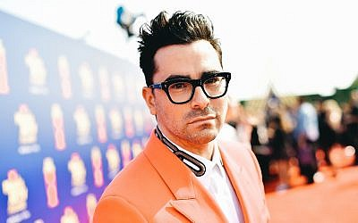 Dan Levy at the 2019 MTV Movie and TV Awards in Santa Monica, Calif., June 15, 2019. (Matt Winkelmeyer/Getty Images for MTV via JTA)