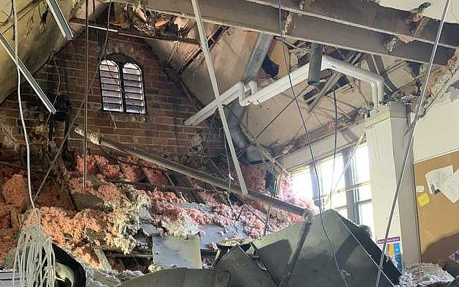 Roof Of Milwaukee Jewish School Collapses Week Before Start Date