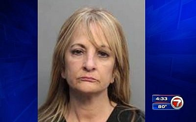 Florida nurse Odalis Lopez, 56, is accused of stealing $110,000 from a Holocaust survivor and her husband. (screen capture: WSVN local news)