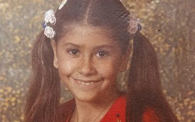 Nava Elimelech, 12, who was murdered in 1982. (Yossi Aloni)