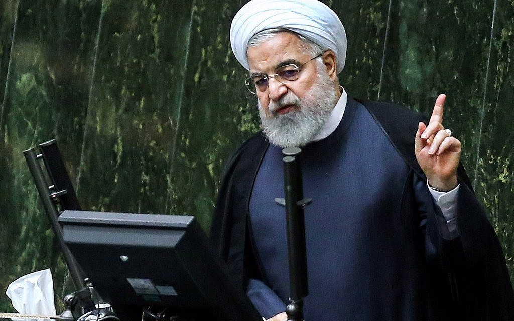 After US sends troops to Mideast, Rouhani warns foreign forces to 'stay away'
