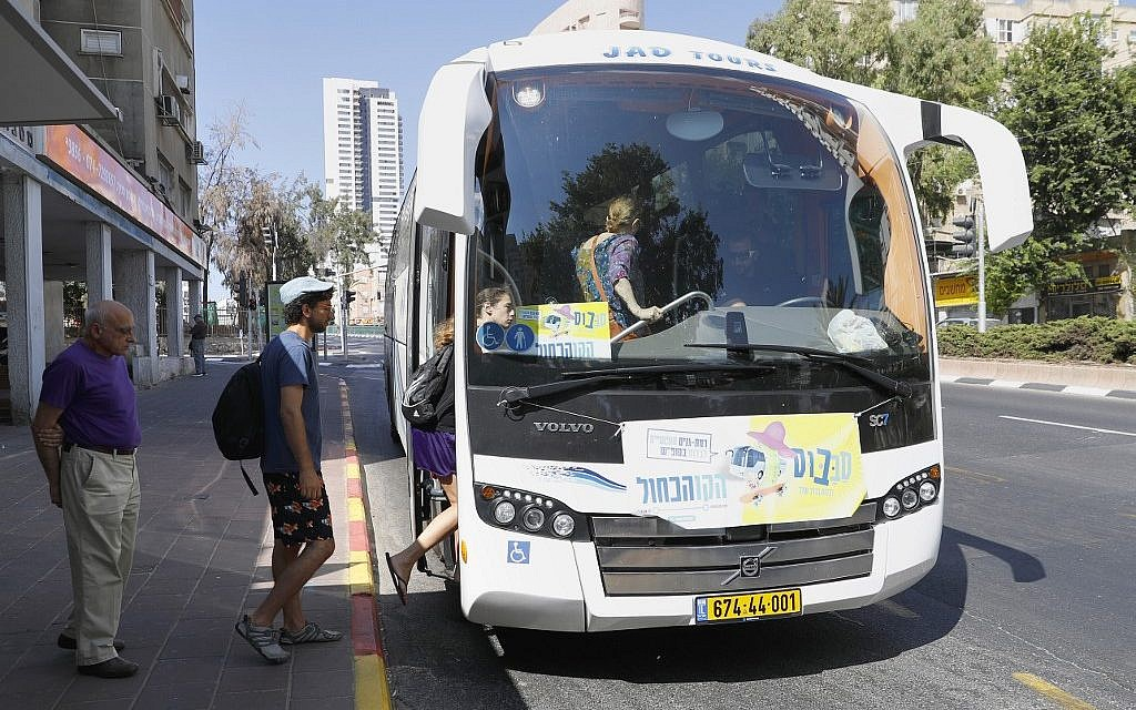 Saturday buses in Israel: A blessing for some, a curse for others