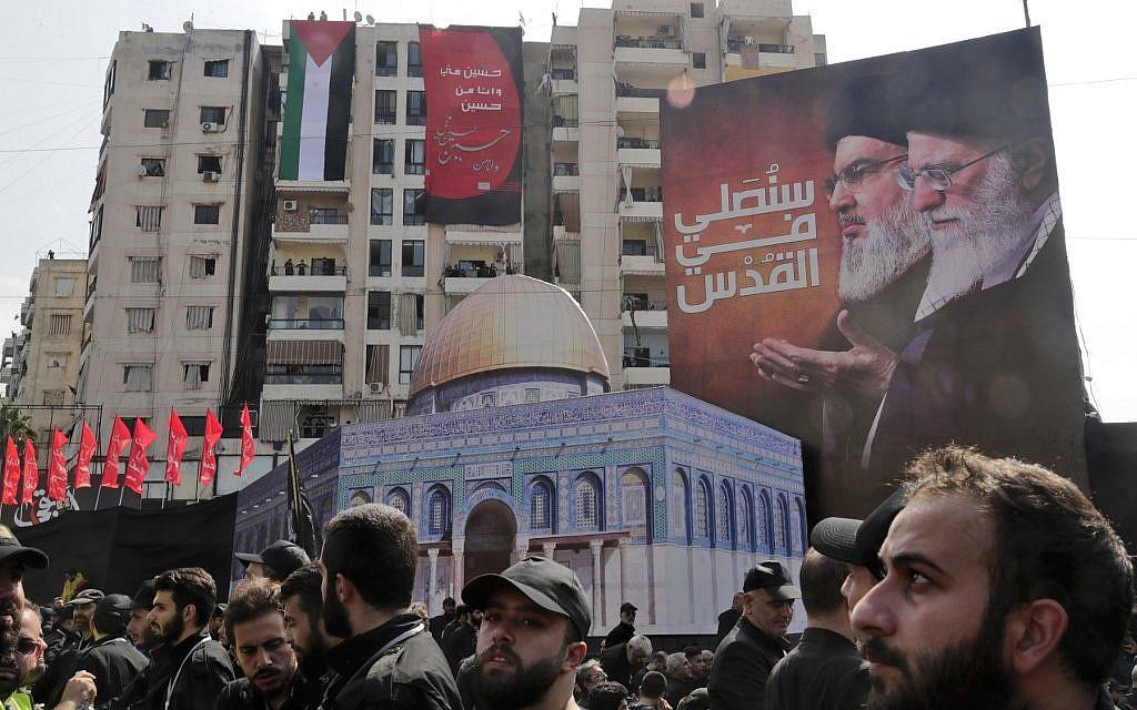 Lebanese Shiites mark Ashura in show of anti-Israel defiance