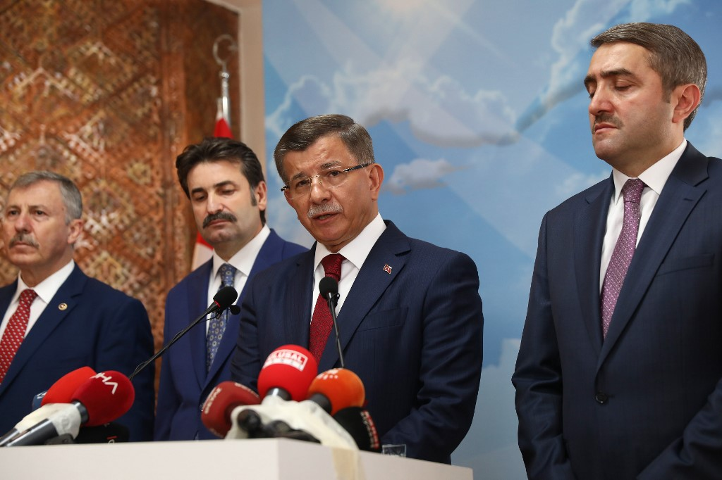 Turkish ex-Prime Minister Davutoglu leaves Erdogan's party