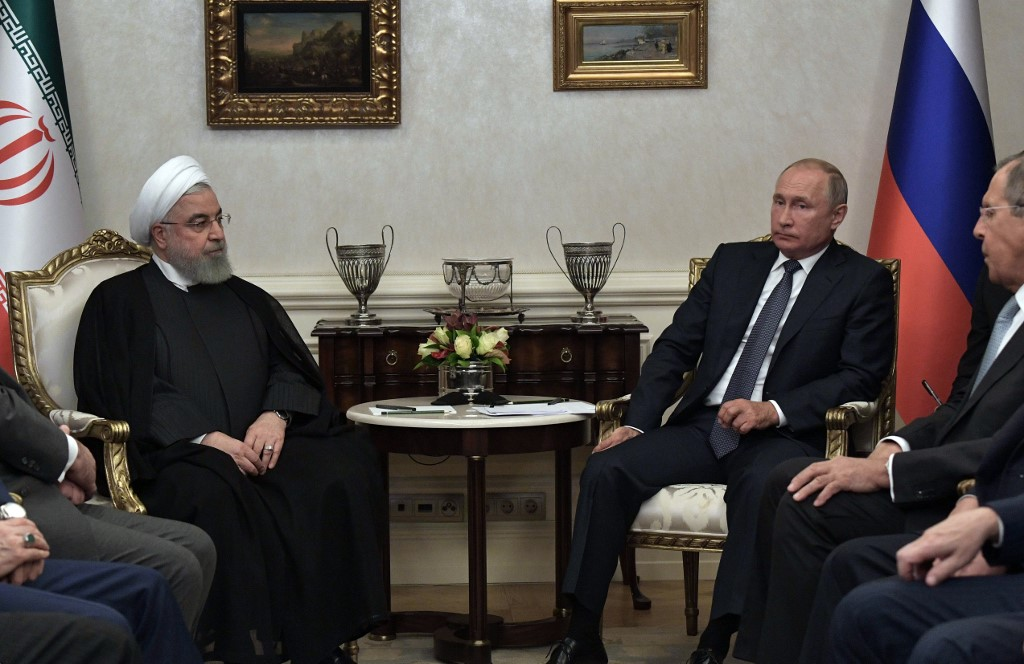 Erdoğan hosts Putin and Rouhani for Syria summit