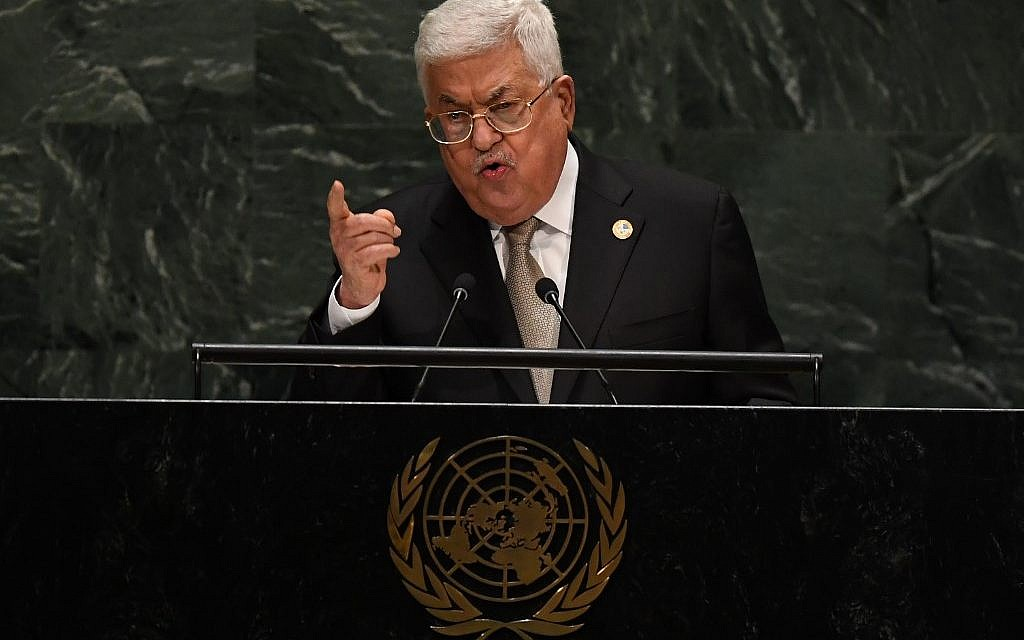 Palestinians advancing UN resolution against annexation, Israel ...