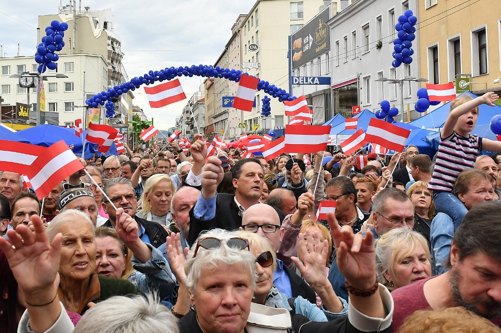 Austrians vote with conservatives in lead | The Times of Israel