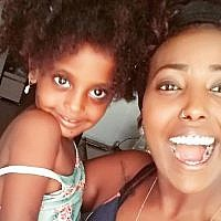 Sefy Bililin and her 3-year old daughter Pri'el. (Facebook)