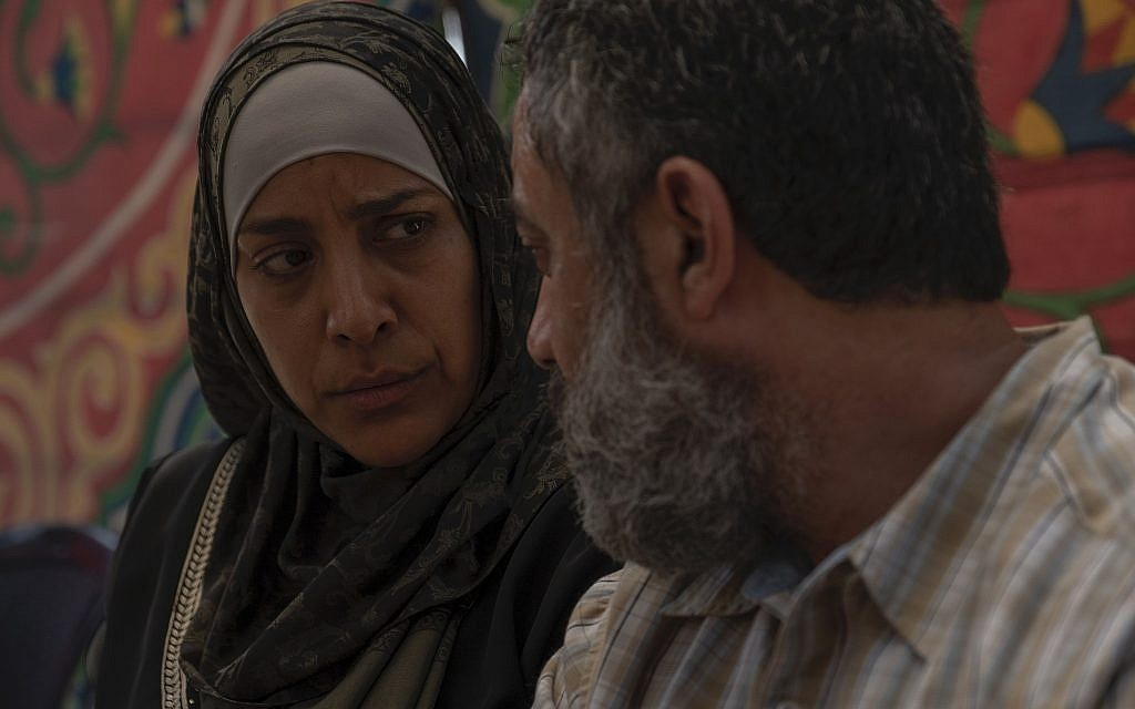 Jony Arbid, Ruba Blal Asfour in 'Our Boys.' (Ran Mendelson/HBO)