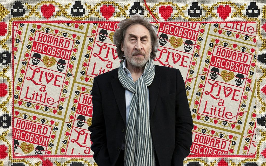 Howard Jacobson's latest novel is titled 'Live a Little,' and centers on two 90-year-olds. (Keke Keukelaar/via JTA)