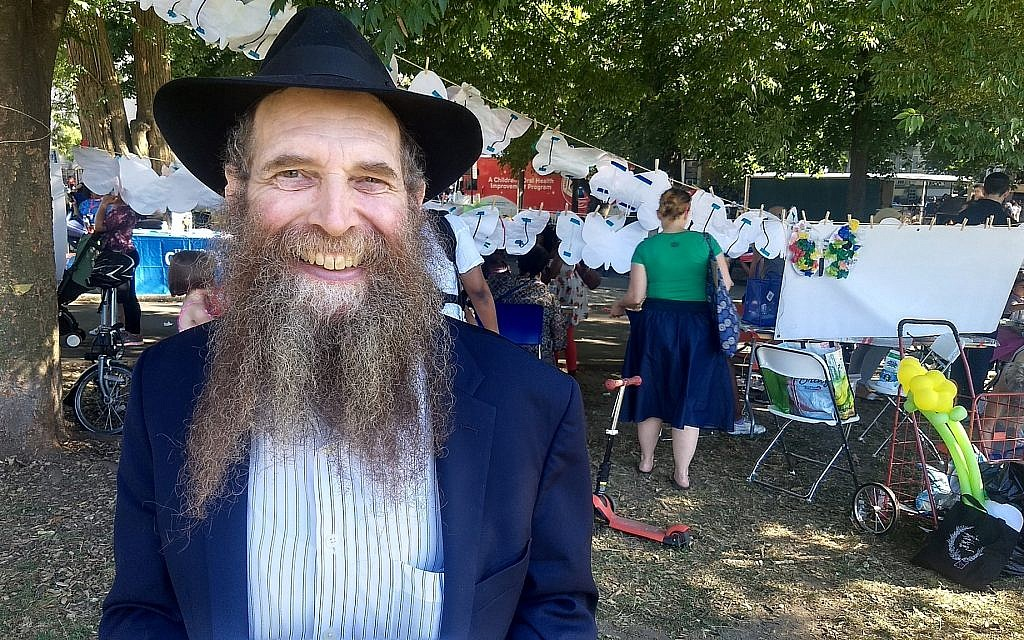 Rabbi Eli Cohen, executive director of the Crown Heights Jewish Community Center, said relations have improved in the neighborhood since the 1991 riots. (Ben Sales/via JTA)