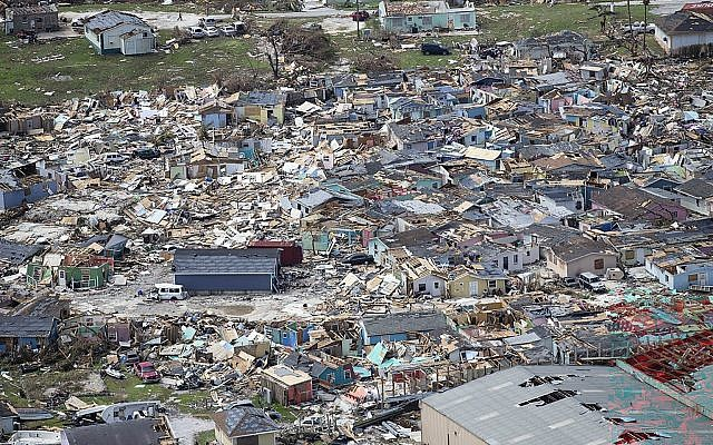 Hurricane death toll climbs to 20 in devastated Bahamas