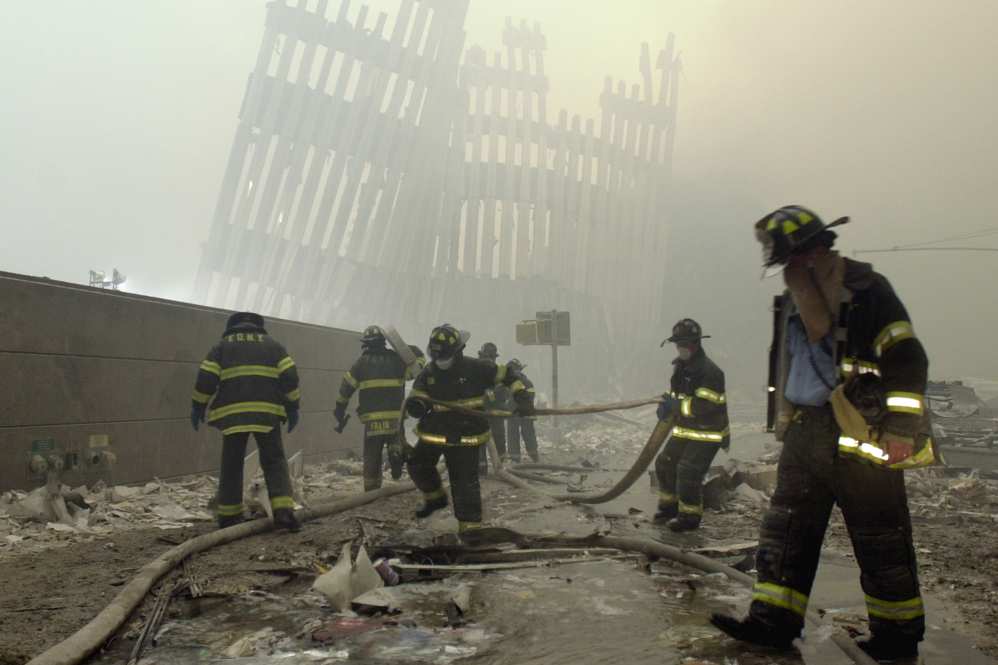 'We cannot forget': US marks 18 years since 9/11 attacks with somber ceremonies
