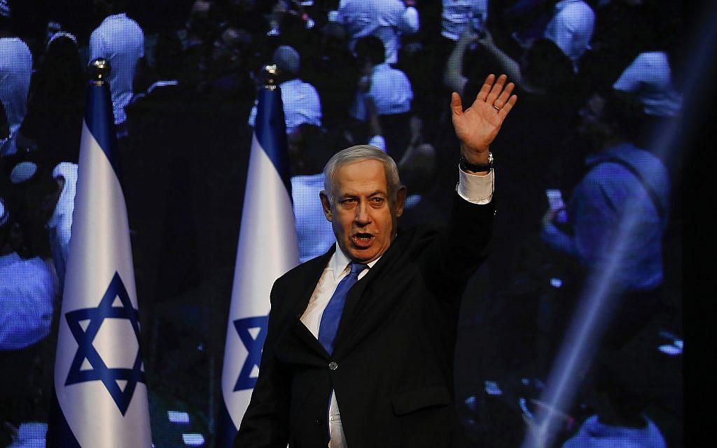 As Joint List backs Gantz, Netanyahu says: I told you so